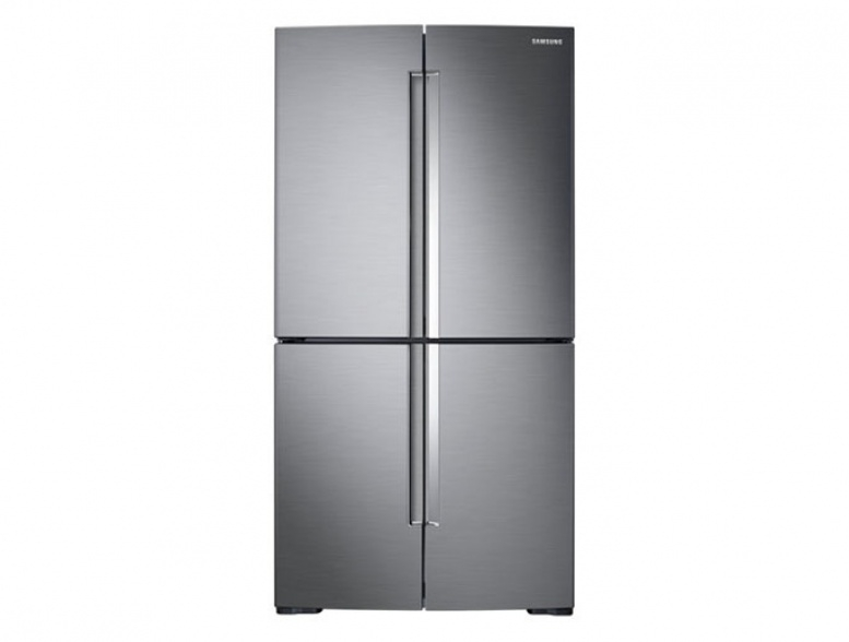 Samsung|RF66M9091SL|611L| French Door| Triple Cooling|Silver